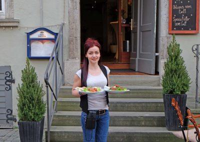 Essen im Posthoernle